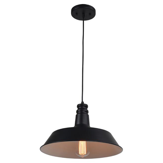 Pendant Light - 1 Light - Black
