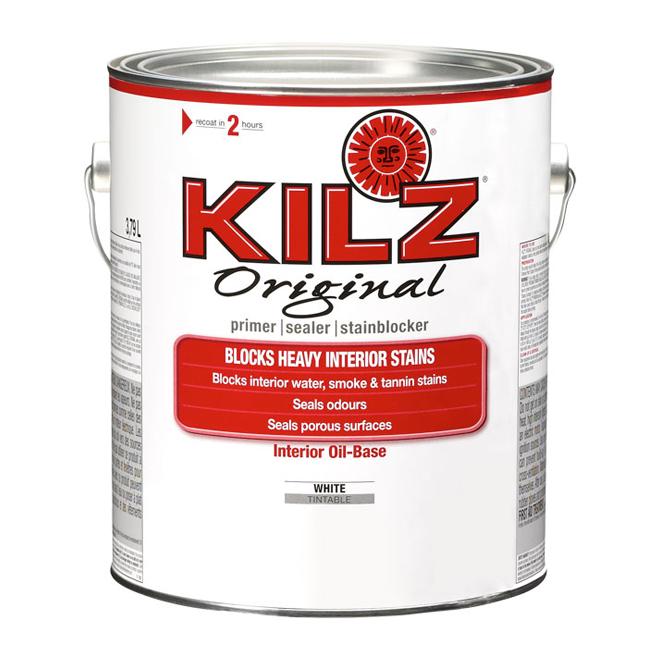 Kilz - Interior Oil Base Primer - 3.79 L - White
