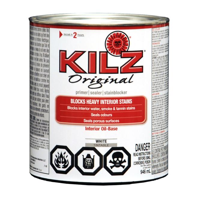 """Kilz"""""""" Interior Alkyd primer-sealer"""