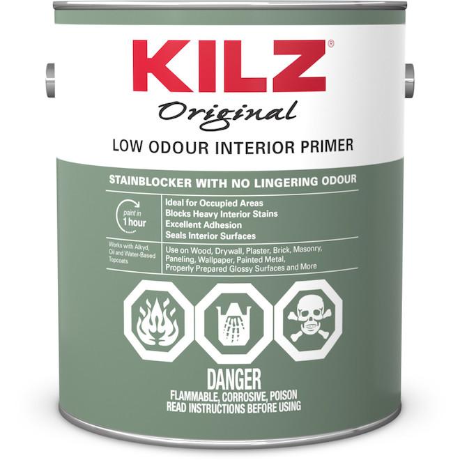 Kilz Odourless(R) Sealer Primer - Oil Base - 3.78 L - White