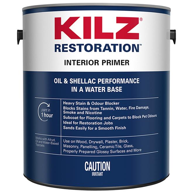 Kilz(R) Max Interior Water-Based Primer - 3.79 L - White