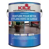 Peinture pour béton et plancher de garage Kilz, 3,79 l, gris ardoise
