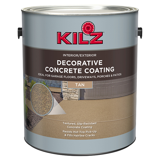 Concrète Coating - 3.79 L, tan