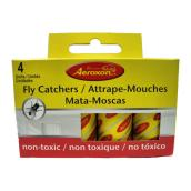 Fly Catcher - Yellow - Box of 4