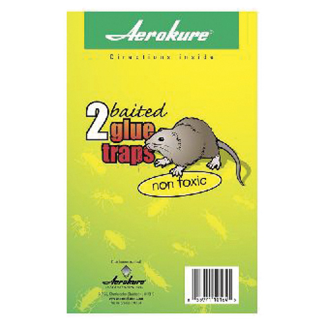 Glued Mouse Trap - 2/Pack