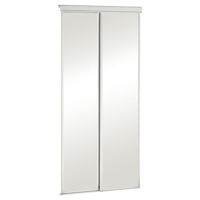 Porte Miroir Coulissante « Série économique »