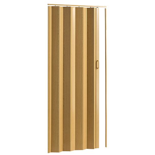 "Porte accordéon Oakmont, Colonial Elegance, 36"" x 80"", butterscotch"