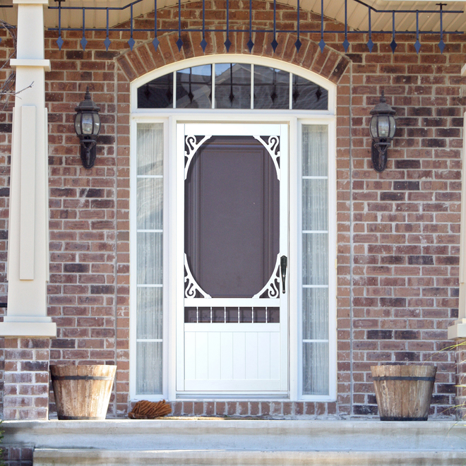 """Deerglen"" Screen Door"