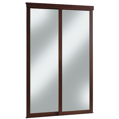 Porte miroir coulissante « Fusion »