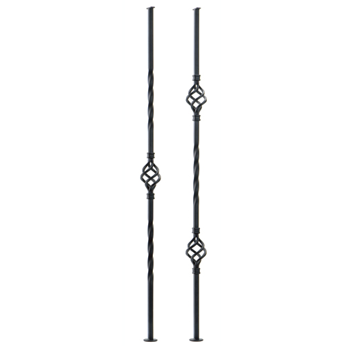 Balusters - 2 Stair Balusters - 2 Baskets