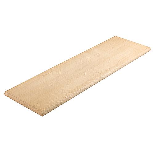 """Maple Veneer Reversible Stair Tread - 10 1/2"""" x 42"""""""