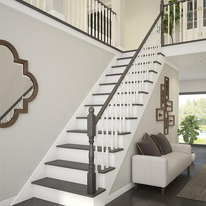 """Victorian"" Hemlock Handrail with Fillet - Natural"