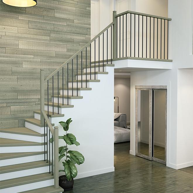 """Zen"" Stair section straight baluster"