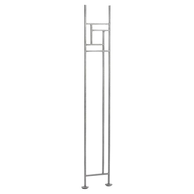 Panneau de rampe en fer forgé « Azimuth », horizontal