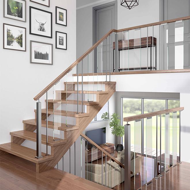 """""""Verona"""" Glass Balustrade Panel - Stair"""
