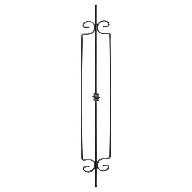 Panneau en fer forgé « Oxford », horizontal