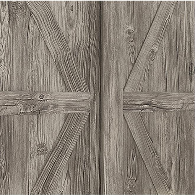 """Porte coulissante Campagne, antique, 48"""" x 80 1/2"""""""