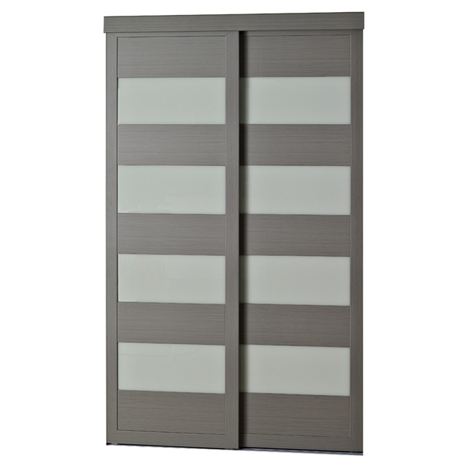 """4-Lite"" Sliding Door - 36"" x 80 1/2"""
