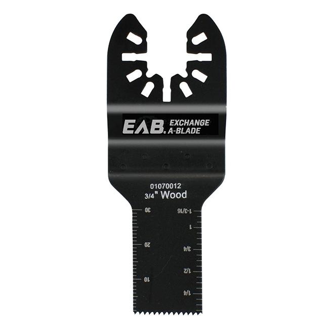 "EAB Tool HCS Flush Cut (Wood) Professional Oscillating Accessory - Exchangeable - 3/4"""