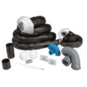 Installation kit for air exchanger