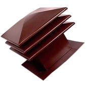 "Sloped-Roff Attic Ventilator 18"" x 20"" - Brown"