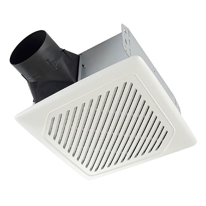 Ventilateur  à détection d'humidité Broan, 110 PCM, blanc