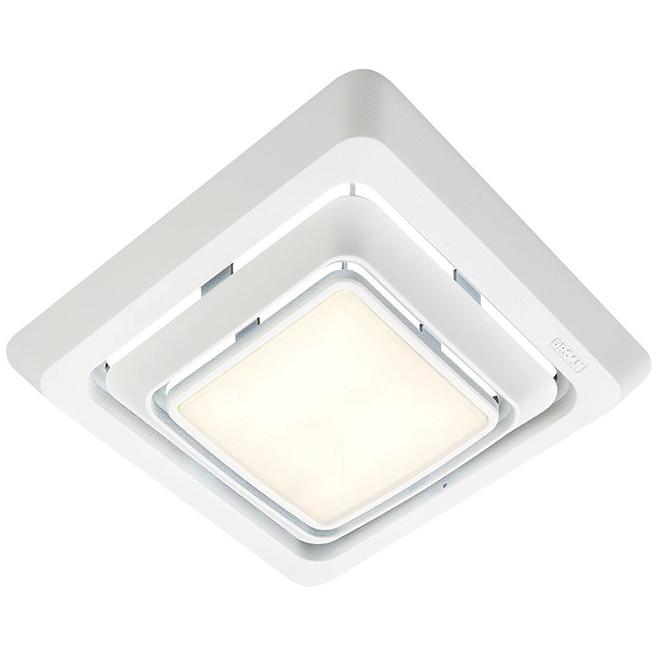 Broan(R) Bathroom Fan Grille - LED Light - White