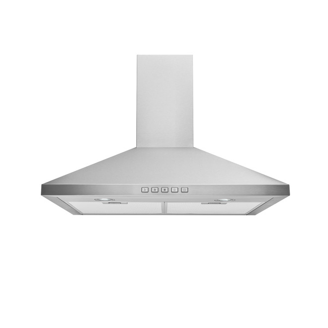 Broan Pyramid Chimney Range Hood 30-in - 450 Max CFM - Stainless Steel