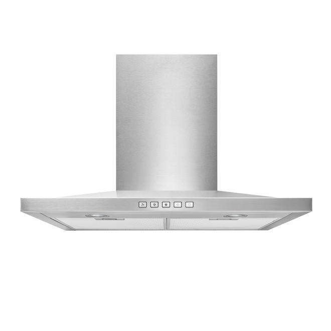 Broan Low-Profile Chimney Hood - 30-in - Stainless Steel