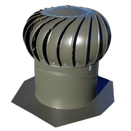 14-in Aluminium Turbine Vent