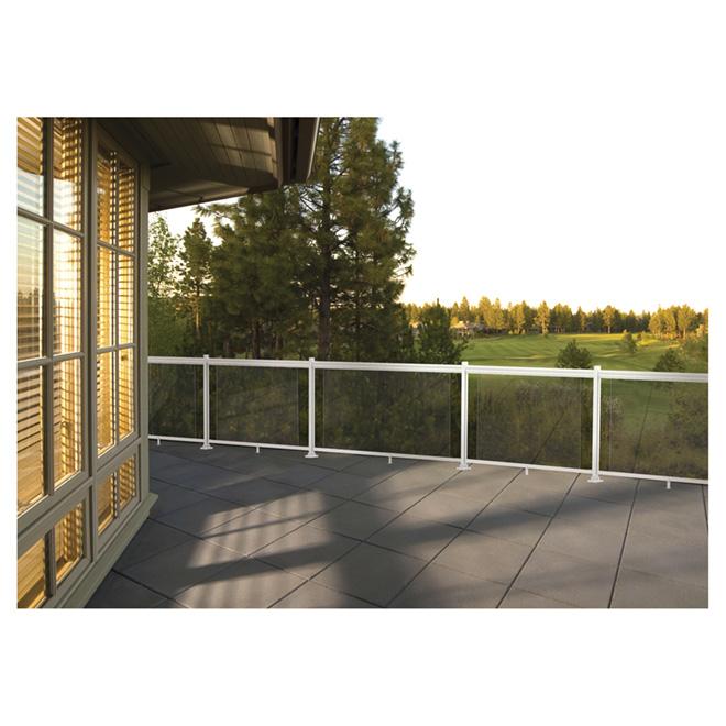 "Railing Glass Insert Panel - 36"""