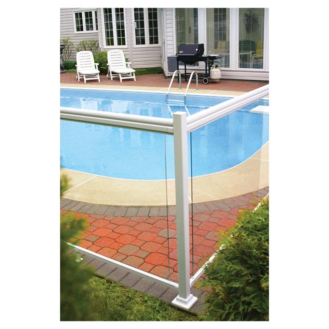 "Railing Glass Insert Panel - 48"""