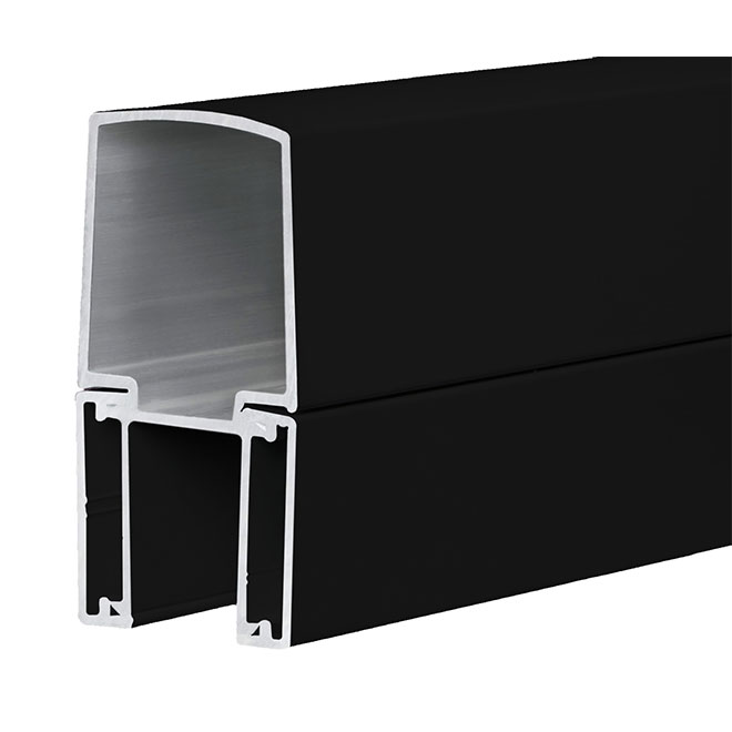 "Stair Railing Post - 3"" x 40 1/2"" - Black"