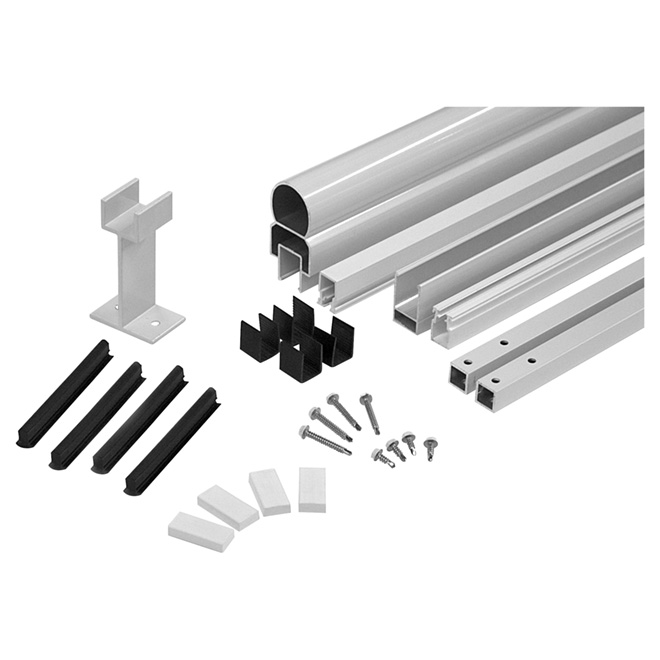 "Aluminum Railing Framing Kit - 42"" x 72"" - White"