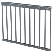 "Classica Plus Railing Section - Charcoal Grey - 36"" x 45"""
