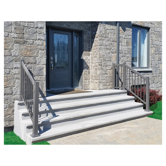 "Classica Plus Railing Section - Charcoal Grey - 36"" x 59"""