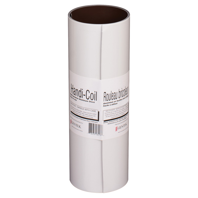 """Aluminum Roll - 12"""" x 10' - Brown and White"""