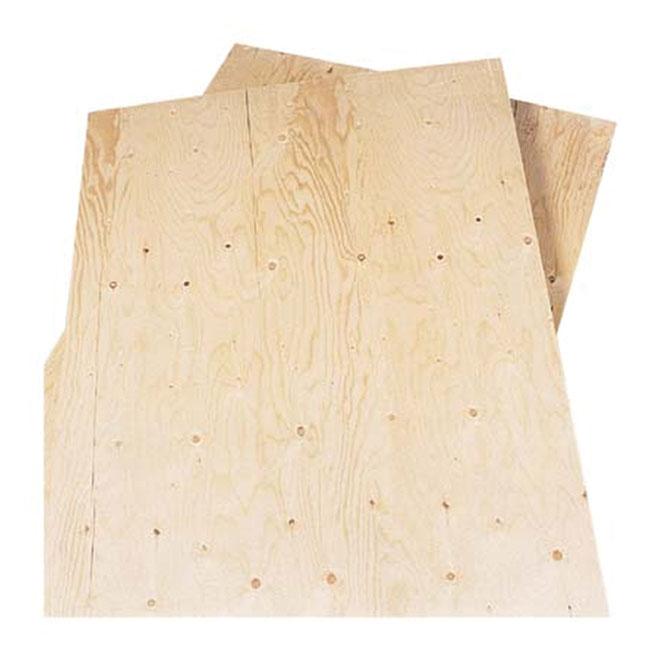 1/2x4x8 - Plywood Spruce D-Grade