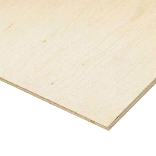 5/8x4x8 - Plywood Spruce D-Grade