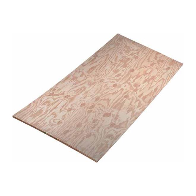 1/2x4x8 - Plywood Pine ACX