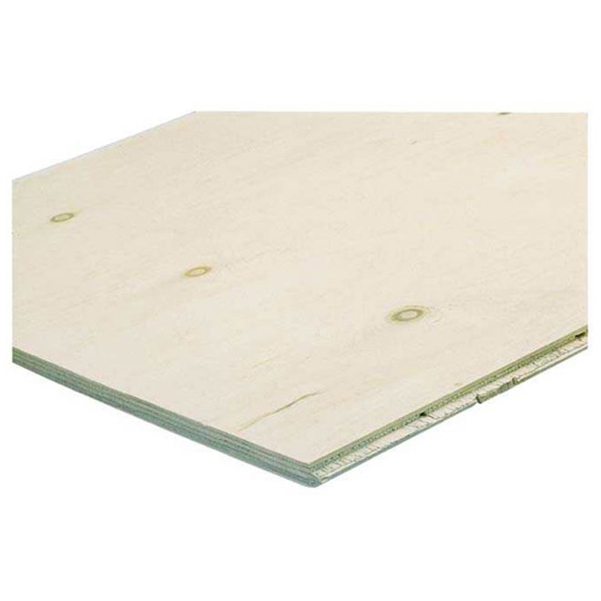 Fire-Resistant Treated Plywood - Fir - 3/4-in x 4-ft x 8-ft
