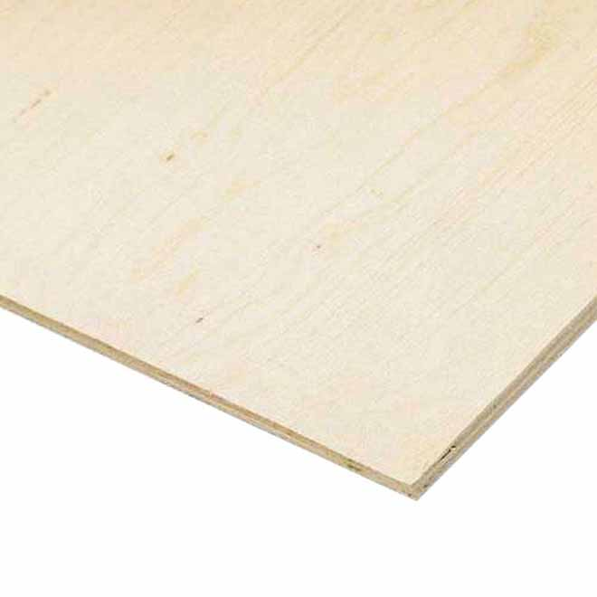 Select Plywood - Fir - Fire Resistance - 3/4-in x 4-ft x 8-ft