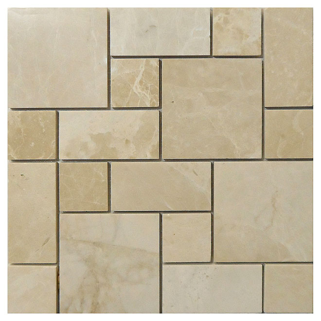 """Crema Roman"" Marble Tile"