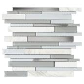 Glass/Marble Wall Tiles - Alaska Mosaic - 6/Box