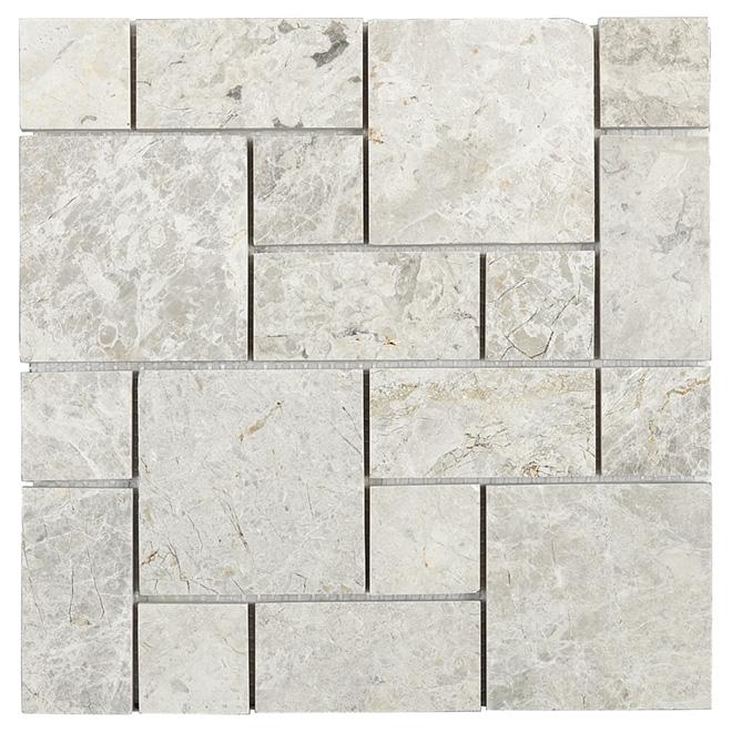 Marble Wall Tiles - Valensa Mosaic - 5/Box