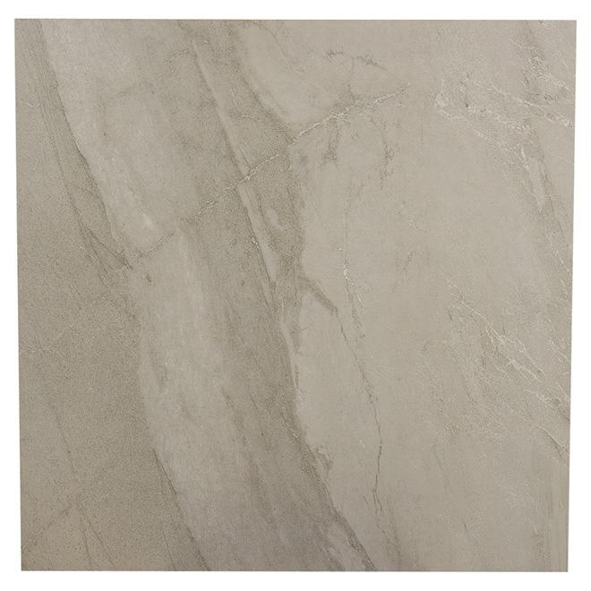 """Porcelain Floor Tiles - 24"""" x 24"""" - Rock Grey"""
