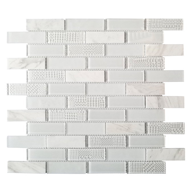 Porcelain Tiles - 10 per Box - White
