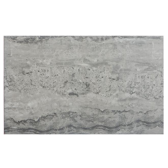 """Tuiles de céramique Silver Mist, 10"""" x 16"""", boîte de 15, gris"""