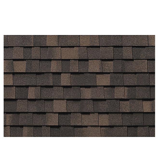 Bardeaux de toiture « Everest 42 », brun automne