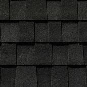"""Mystique 42"" Roofing Shingle - Shadow Black"